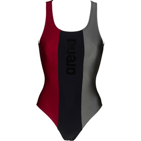 arena Just O Back Swimsuit Women, negro/Multicolor